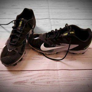 NIKE FastFlex Vapor Black Football Shoe Size 8.5